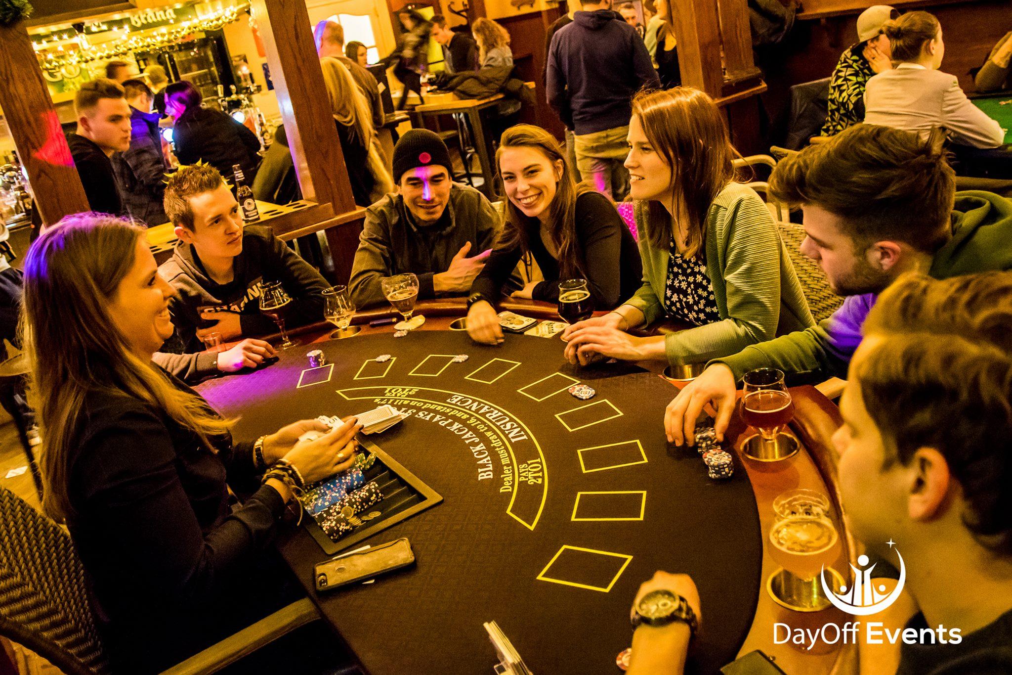 Casino avond bij jouw sportclub, evenement, in de kroeg of bij jouw thuis!