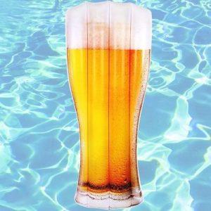 Opblaas luchtbed Bier