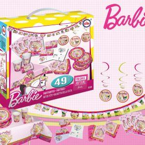 Feestset Barbie